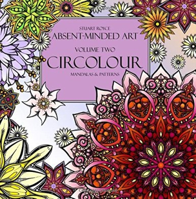 Stuart Royce Adult Coloring books Artist Circolour