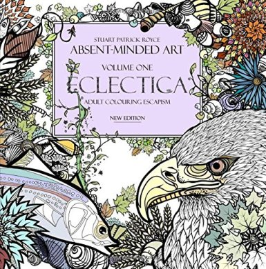 Stuart Patrick Royce Eclectica adult colouring book