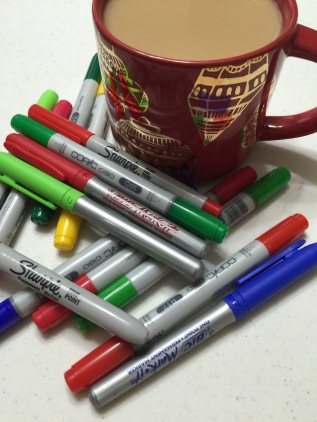merry christmas and morning coffee with #cherylcolors