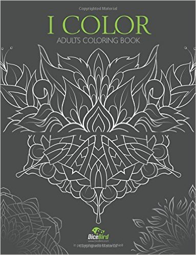 icolor mandala coloring book by dicebird
