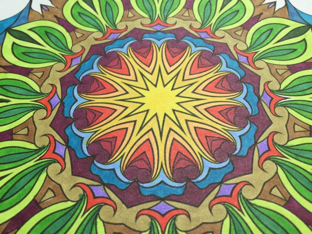 Dicebird Mandala Art