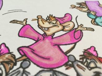Walt Disney Cinderella Coloring Page