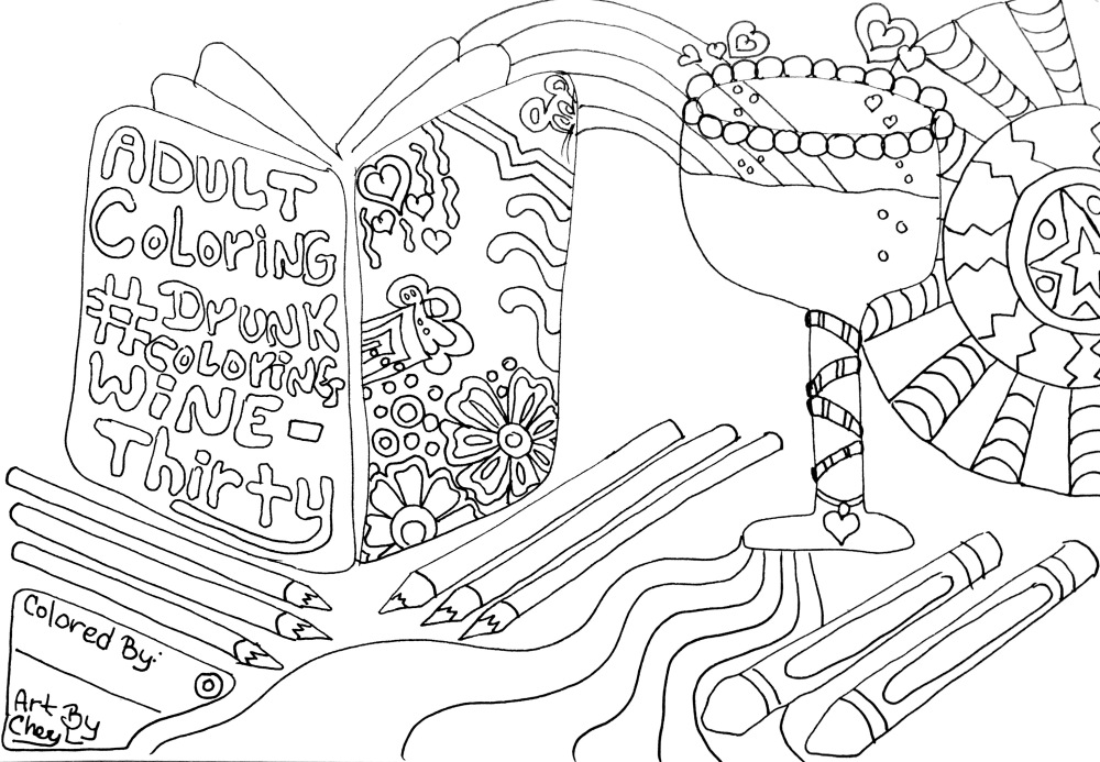 Free Coloring Pages By Cheryl Colors