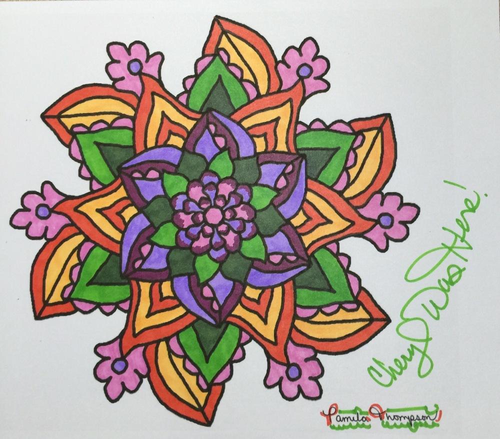Mandala Art by Pamela Thompson
