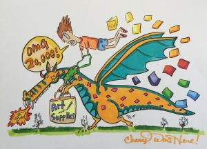 #cherylcolors #20000 Art by Paul Summerfield From Australia