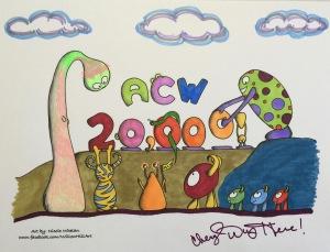 #cherylcolors #20000 Art by Nicole Whelan
