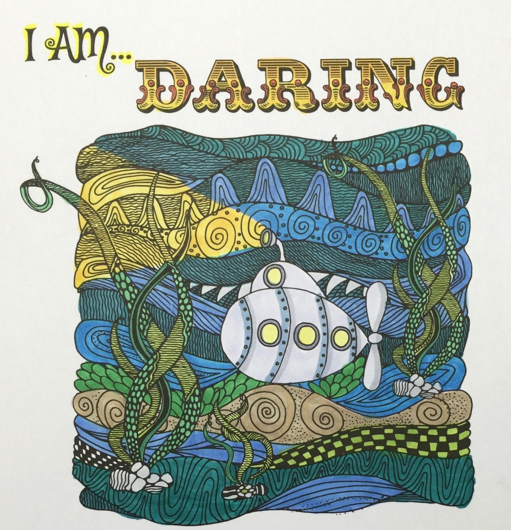 MartyJo's Coloring Book I am Woman Adult Coloring Book